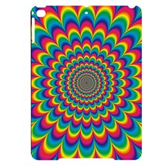 Psychedelic Colours Vibrant Rainbow Apple Ipad Pro 9 7   Black Frosting Case