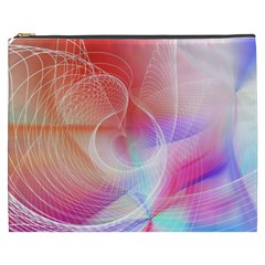Background Nebulous Fog Rings Cosmetic Bag (xxxl)