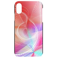 Background Nebulous Fog Rings Iphone Xr Black Frosting Case