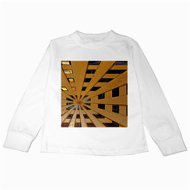 Graphics Assembly Transformation Kids Long Sleeve T-Shirts