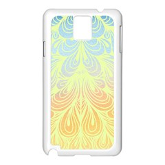 Wallpaper Scrapbook Paisley Samsung Galaxy Note 3 N9005 Case (white)