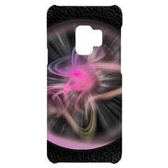 Stress Fractal Round Ball Light Samsung S9 Frosting Case by Pakrebo