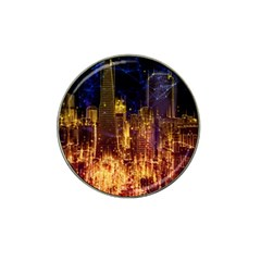 City View San Francisco Usa Hat Clip Ball Marker (10 Pack)