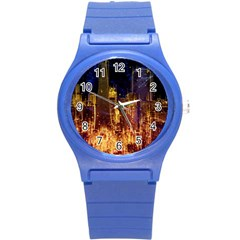 City View San Francisco Usa Round Plastic Sport Watch (s)