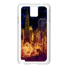 City View San Francisco Usa Samsung Galaxy Note 3 N9005 Case (white)