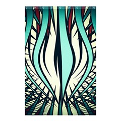 Retro Illusion Canvas Night Shower Curtain 48  X 72  (small)