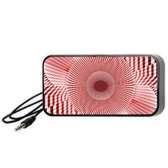 Fractals Abstract Pattern Flower Portable Speaker