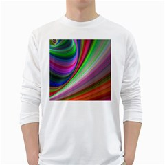 Illusion Background Blend Long Sleeve T-shirt by Pakrebo
