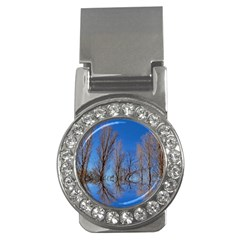 Background Mirror Reflection Money Clips (cz)