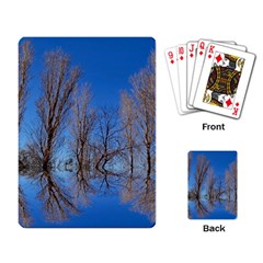 Background Mirror Reflection Playing Cards Single Design