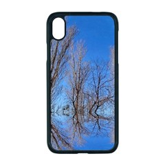 Background Mirror Reflection Iphone Xr Seamless Case (black)