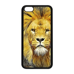Lion Lioness Wildlife Hunter Iphone 5c Seamless Case (black)