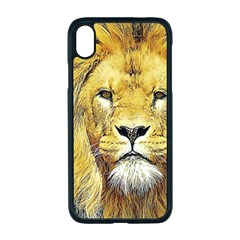 Lion Lioness Wildlife Hunter Iphone Xr Seamless Case (black)