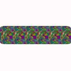 Pattern Abstract Paisley Swirls Large Bar Mats by Pakrebo