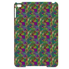 Pattern Abstract Paisley Swirls Apple Ipad Mini 4 Black Frosting Case