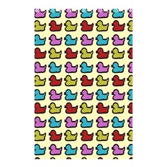 Ducklings Background Ducks Cute Shower Curtain 48  X 72  (small)