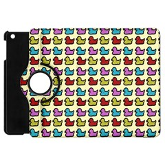 Ducklings Background Ducks Cute Apple Ipad Mini Flip 360 Case