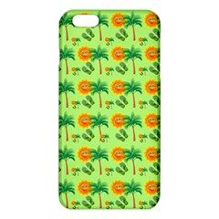 Holiday Tropical Smiley Face Palm Iphone 6 Plus/6s Plus Tpu Case