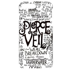Pierce The Veil Music Band Group Fabric Art Cloth Poster Iphone 7/8 Plus Black Frosting Case
