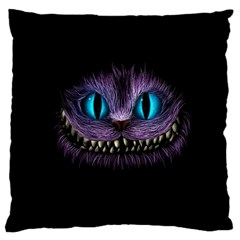 Cheshire Cat Animation Standard Flano Cushion Case (two Sides) by Sudhe