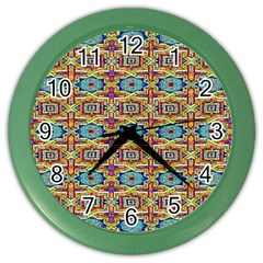 134 1 Color Wall Clock by ArtworkByPatrick