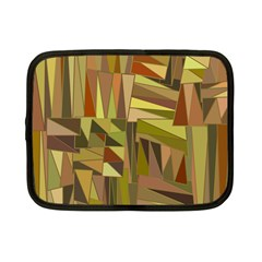 Earth Tones Geometric Shapes Unique Netbook Case (small)