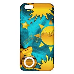 Gold Music Clef Star Dove Harmony Iphone 6 Plus/6s Plus Tpu Case