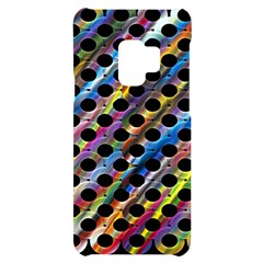 Rings Geometric Circles Random Samsung S9 Frosting Case