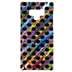 Rings Geometric Circles Random Samsung Note 9 Frosting Case by AnjaniArt