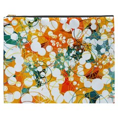 Orange Kiss Cosmetic Bag (xxxl)