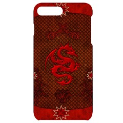 Awesome Chinese Dragon, Red Colors Iphone 7/8 Plus Black Frosting Case by FantasyWorld7