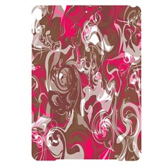 Fancy Magenta Marble Apple Ipad Pro 10 5   Black Frosting Case