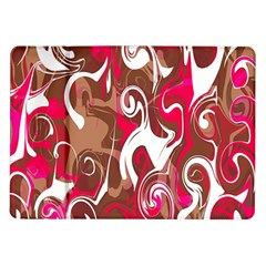 Fancy Magenta Marble Samsung Galaxy Tab 10 1  P7500 Flip Case by tarastyle