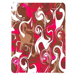 Fancy Magenta Marble Apple Ipad Pro 12 9   Black Frosting Case by tarastyle