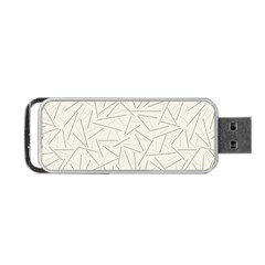 Abstract Lines Portable Usb Flash (one Side) by tarastyle