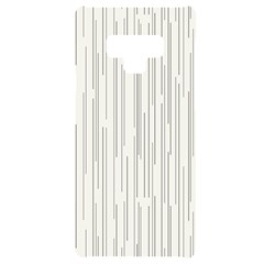 Abstract Lines Samsung Note 9 Frosting Case