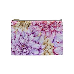 Watercolor Autumn Garden Cosmetic Bag (medium)