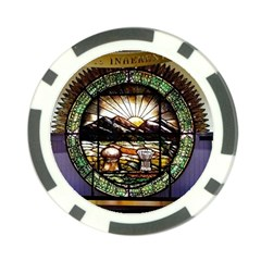 Ohio Seal Poker Chip Card Guard (10 Pack) by Riverwoman