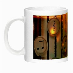 Music Notes Sound Musical Audio Night Luminous Mugs