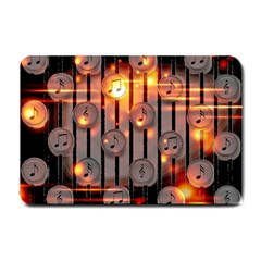 Music Notes Sound Musical Audio Small Doormat