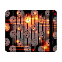 Music Notes Sound Musical Audio Samsung Galaxy Tab Pro 8 4  Flip Case