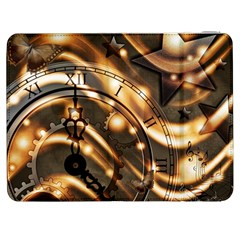 Time Clock Star Hour Day Night Samsung Galaxy Tab 7  P1000 Flip Case