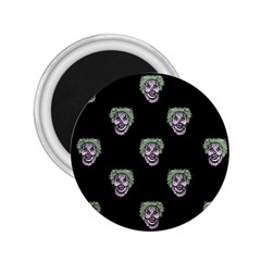 Creepy Zombies Motif Pattern Illustration 2 25  Magnets