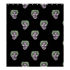 Creepy Zombies Motif Pattern Illustration Shower Curtain 66  X 72  (large)
