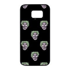 Creepy Zombies Motif Pattern Illustration Samsung Galaxy S7 Edge Black Seamless Case by dflcprintsclothing