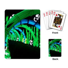 Dragon Lights Panda Playing Cards Single Design by Riverwoman