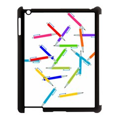 Pen Pencil Color Write Tool Apple Ipad 3/4 Case (black) by Jojostore