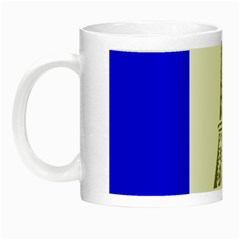 Eiffel Tower France Flag Tower Night Luminous Mugs by Sudhe