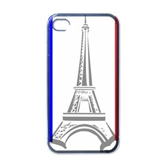 Eiffel Tower France Flag Tower Iphone 4 Case (black)