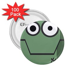 Cartoon Cute Frankenstein Halloween 2 25  Buttons (100 Pack)